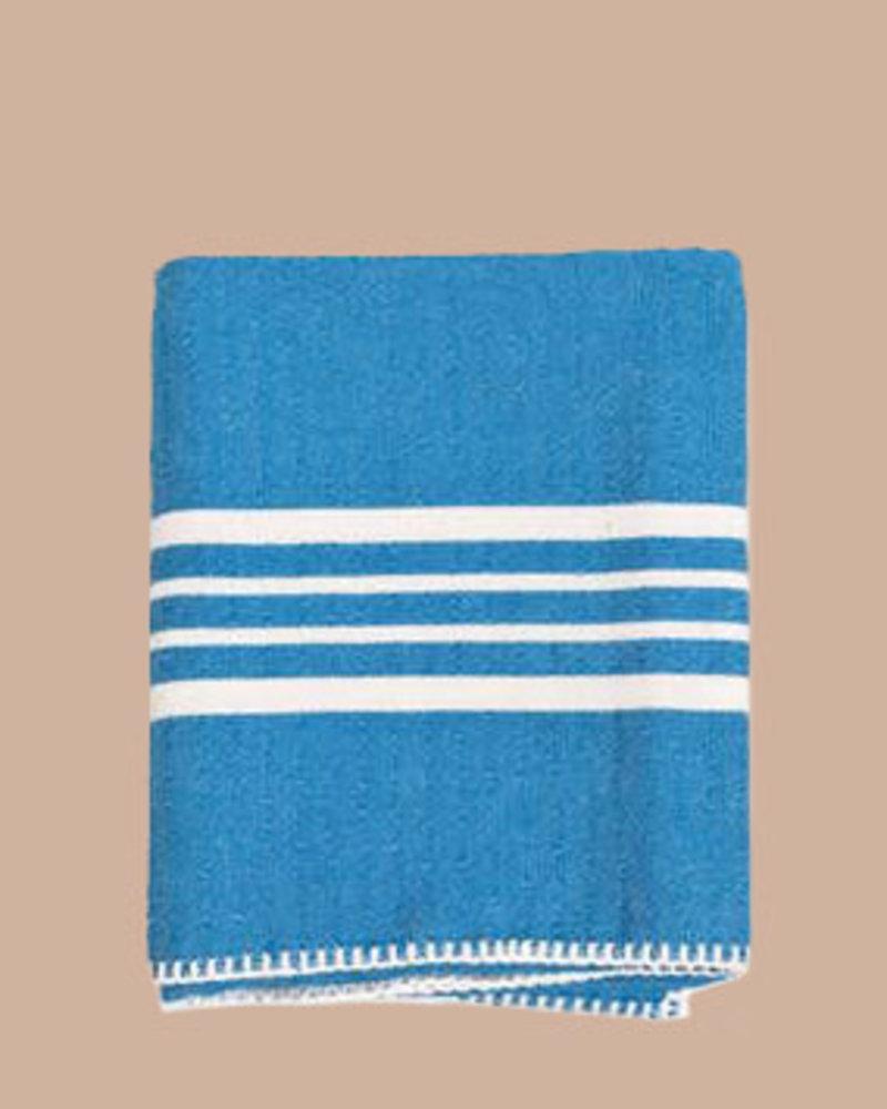 Blue Farmhouse Turkish Hand Towel