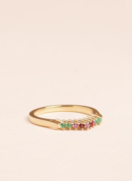 Vera Crown Ring  - Size 6.5