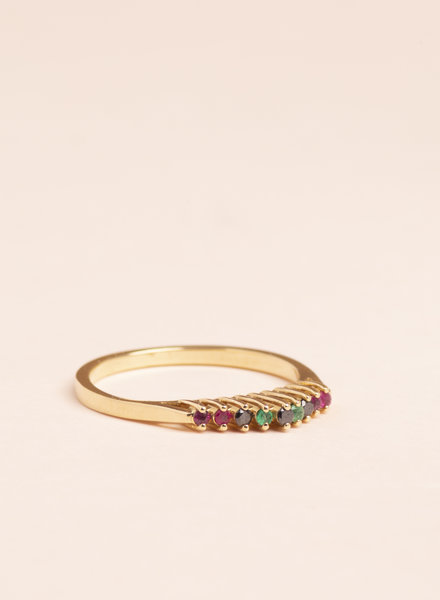 Oasis Crown Ring - Size 8