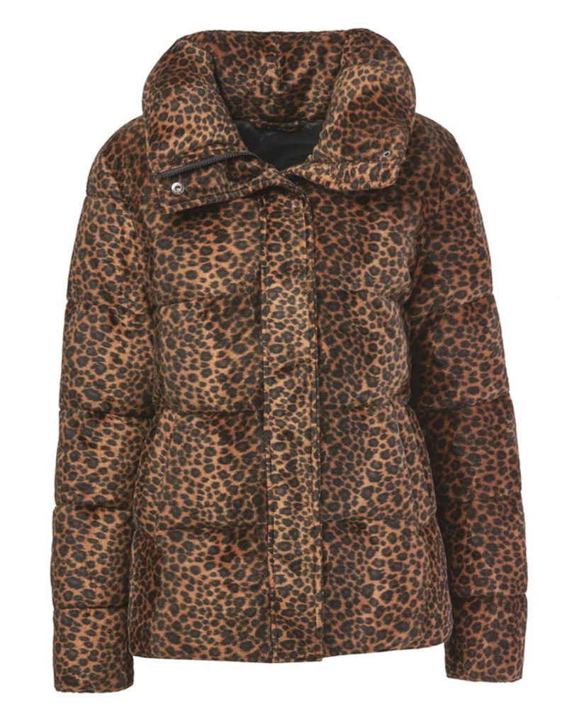 Huff & Puff Leopard Jacket