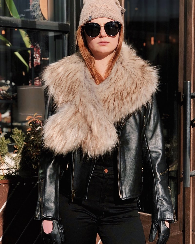 All Ways Faux Fur Scarf