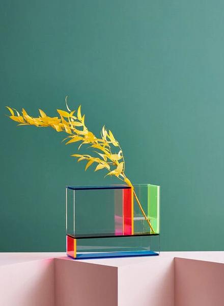 Mondri Neon Vase