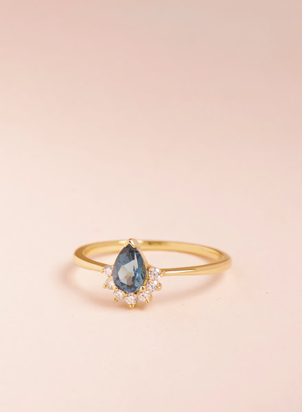 London Blue Topaz Ring - Size 6