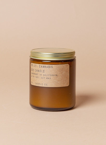 P.F. Candle Co. Soy Candles - Cannabis