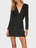 Velvet Dot Taylor Dress