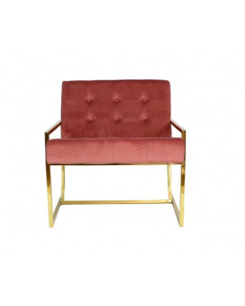 Beauvoir Arm Chair Blush