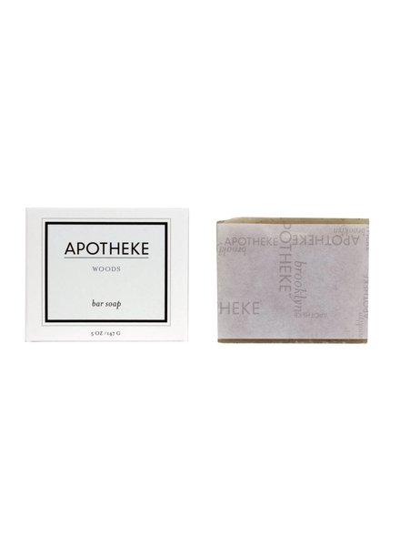 Apotheke Apotheke Bar Soap- Woods