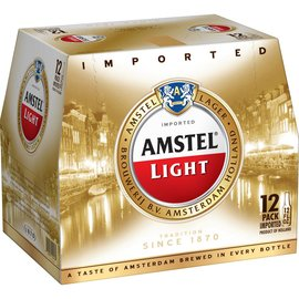 Amstel Light 12 btl