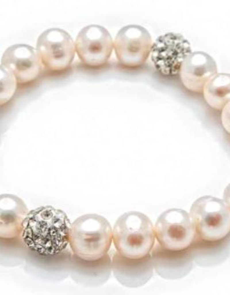 PEARL GIRLS PEARL GIRLS -  ALL ABOUT TOWN PEARL BRACELET