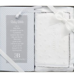 ELEGANT BABY BABY EMBROIDERED COVERED BIBLE