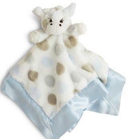 LITTLE GIRAFFE LUXE DOT PLUSH GIRAFFE BLANKY
