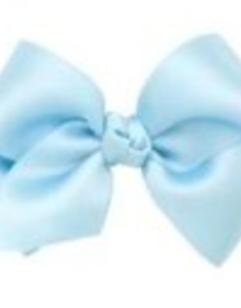 wee ones WEE ONES MINI FRENCH SATIN SILK BOW