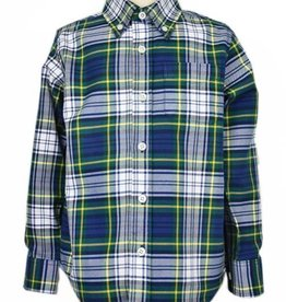 ELAND BOYS TARTAN PLAID SHIRT