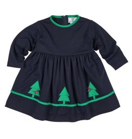 FLORENCE EISEMAN NORTHERN CARDINALS FRENCH TERRY DRESS