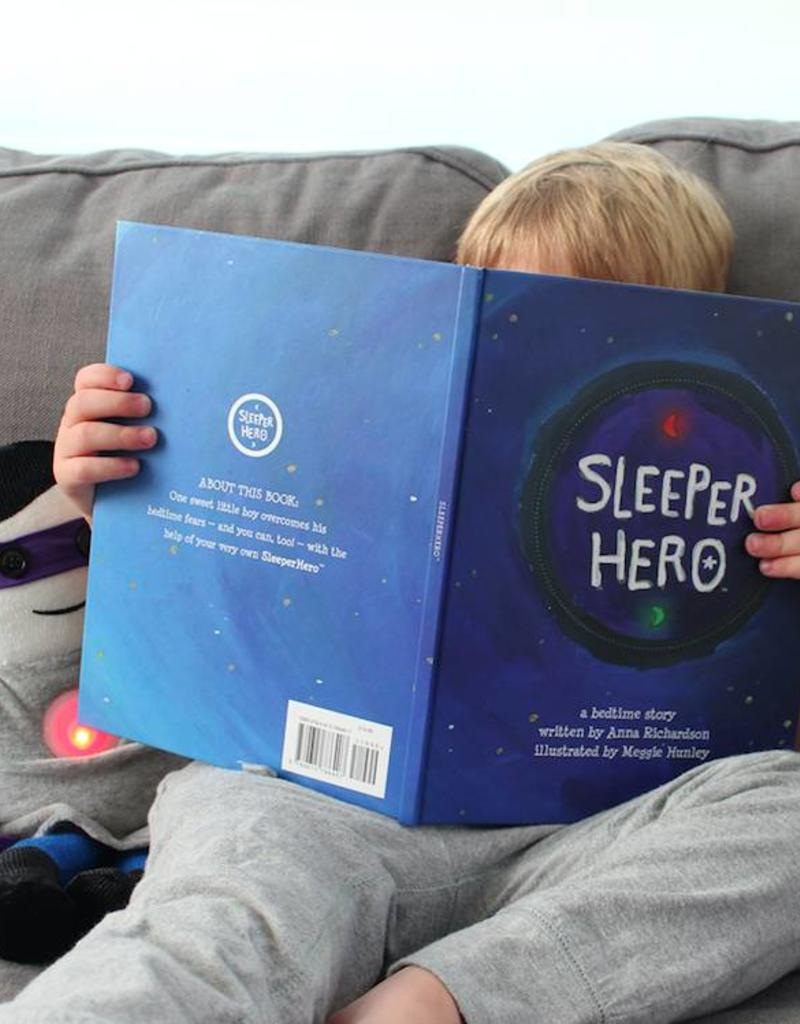 BOY SLEEPER HERO WITH BOOK