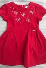 MAYORAL MAYORAL GIRLS RED DRESS