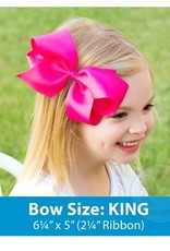 wee ones WEE ONES KING SIZE GROSGRAIN BOW