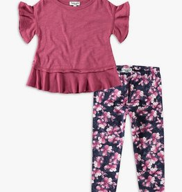 SPLENDID FLOUNCE SHIRT W/LEGGINGS