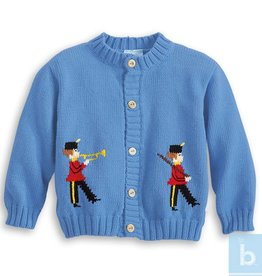 BELLA BLISS INTARSIA MARCHING BAND SWEATER