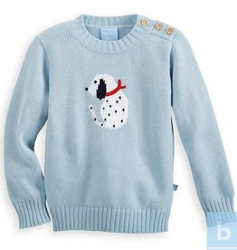 BELLA BLISS INTARSIA DALMATIAN SWEATER