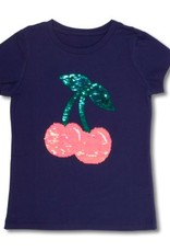 SHADE CRITTERS/8 OAK LANE SAHDE CRITTERS SEQUIN T-SHIRT
