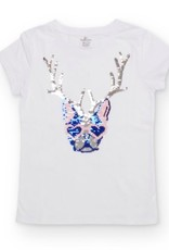 SHADE CRITTERS/8 OAK LANE SHADE CRITTERS SEQUIN T-SHIRT