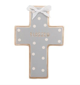 ELEGANT BABY CERAMIC CROSS