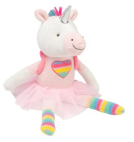 ELEGANT BABY DINO OR UNICORN KNITTIE TOY