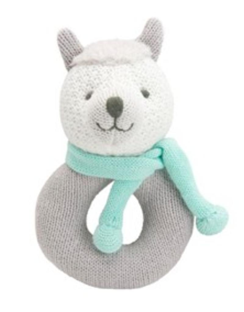 ELEGANT BABY ELEGANT BABY LLAMA AND UNICORN RING RATTLES