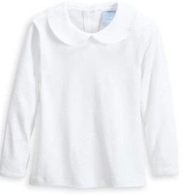 BELLA BLISS LONG SLEEVE PETER PAN SHIRT
