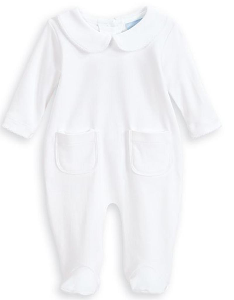 BELLA BLISS BELLA BLISS UNISEX PIMA PLAYSUIT WITH DOUBLE POCKET