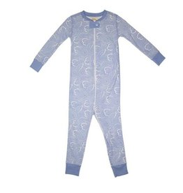 BEAUFORT BONNET CO BOYS KNOX NIGHT NIGHT FOOTED PJS