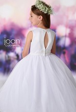 JOAN CALABRESE JOAN CALABRESE SATIN & TULLE DRESS