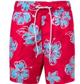 SNAPPER ROCK BOYS HIBISCUS BOARDIE SWIMSUIT