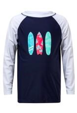 SNAPPER ROCK SNAPPER ROCK BOYS LONG SLEEVE SURFBOARD RASH SHIRT