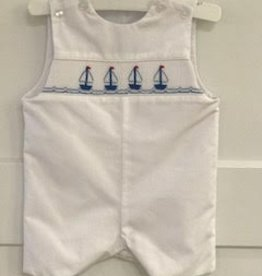 BOYS SAILBOATS POPLIN JON JON