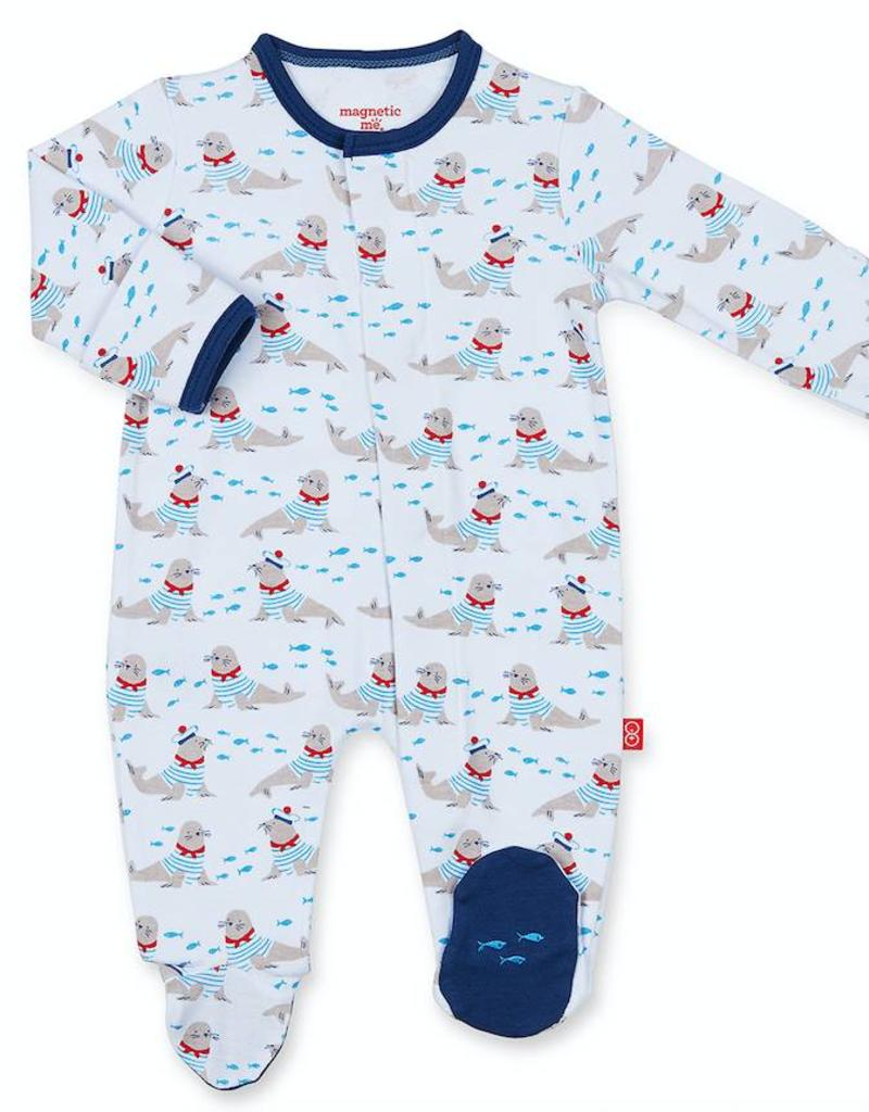 MAGNIFICENT BABY MAGNIFICENT BABY PETIT MARIN FOOTIE