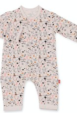 MAGNIFICENT BABY MAGNIFICENT BABY GIRLS CIRQUE BEBE MODAL FOOTIE
