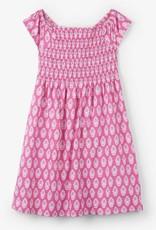 HATLEY HATLEY SARI FLOWERS SMOCKED DRESS