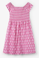 HATLEY HATLEY SARI FLOWERS SMOCKED DRESS