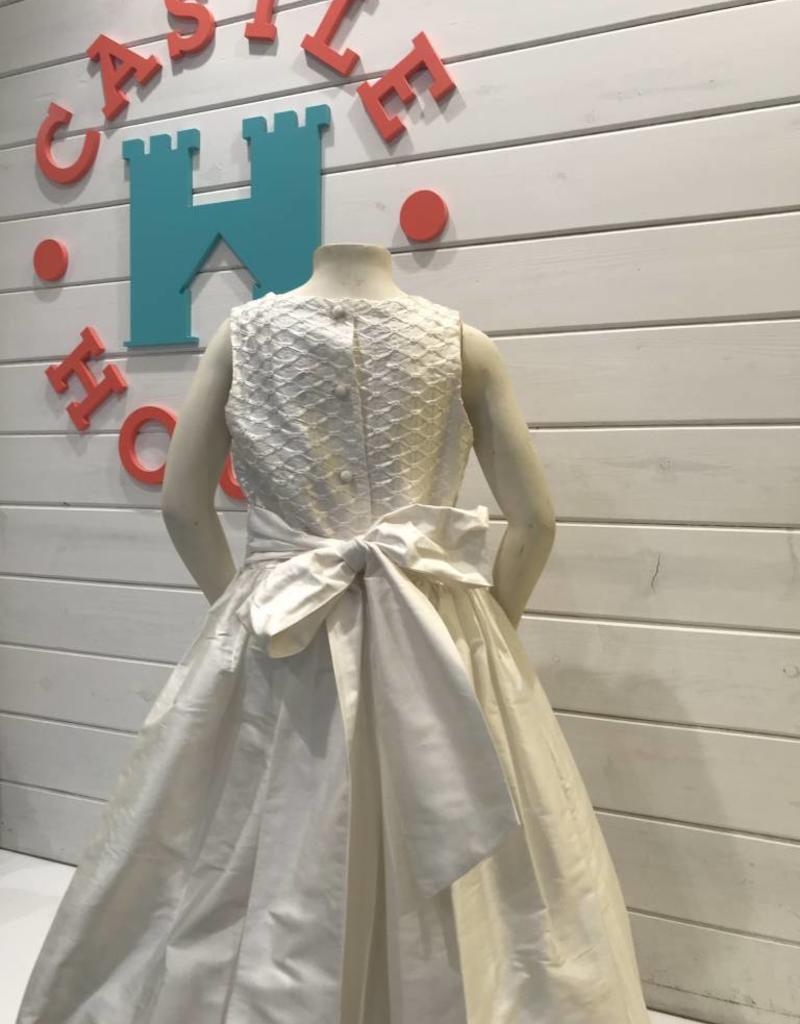 SUSANNE LIVELY SUSANNE LIVELY RIBBON LATTICE SPECIAL CUT DRESS