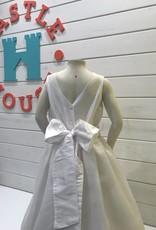SUSANNE LIVELY SUSANNE LIVELY LACE WAIST W/ORGANZA SKIRT DRESS
