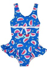 FLORENCE EISEMAN FLORENCE EISEMAN GIRLS PRINTS WATERMELON 1PC SWIMSUIT