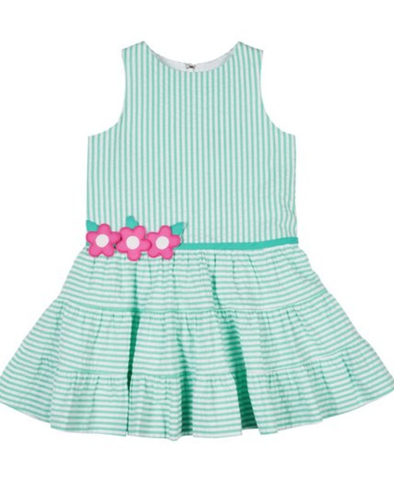 FLORENCE EISEMAN FLORENCE EISEMAN GIRLS HAPPY TIERS DRESS W/TIERED SKIRT