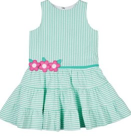 FLORENCE EISEMAN HAPPY TIERS DRESS W/TIERED SKIRT