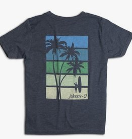 JOHNNIE O PALMS SUNSET L/S GRAPHIC T-SHIRT