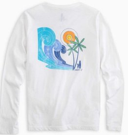 JOHNNIE O PSYCHEDELIC L/S GRAPHIC T-SHIRT