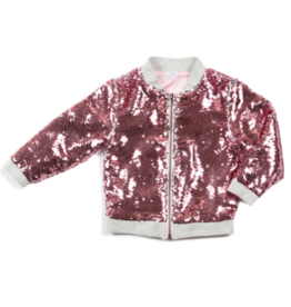 EGG JAYDA SEQUIN JACKET