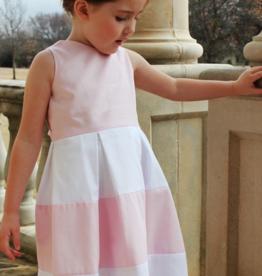SUSANNE LIVELY PIQUE COLORBLOCK DRESS