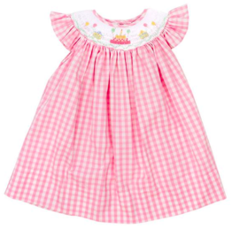 BAILEY BOYS BIRTHDAY CAKE DRESS W/BLOOMERS